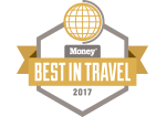 MONEY Magazine - BEST IN TRAVEL 2017 logo