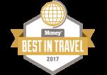 MONEY Magazine - BEST IN TRAVEL 2017 logo