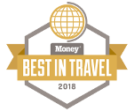 MONEY Magazine - BEST IN TRAVEL 2018 logo
