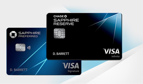 Chase Sapphire Preferred (Registered Trademark) credit card. Chase Sapphire Reserve (Registered Trademark)