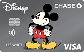 Clickable card art links to Disney(Registered Trademark) Visa(Registered Trademark) Card product page