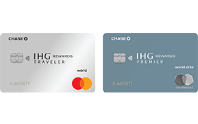 IHG(Registered Trademark) Rewards Club Premier Credit Card. IHG(Registered Trademark) Rewards Club Traveler Credit Card
