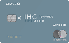 Clickable card art links to IHG(Registered Trademark) Rewards Club Premier Credit Card product page