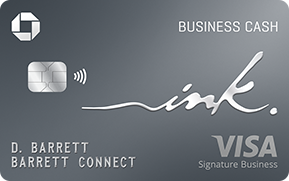 Clickable card art links to Ink Business Cash (Registered Trademark) credit card product page