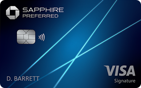 Clickable card art links to Chase Sapphire Preferred(Registered Trademark) credit card product page