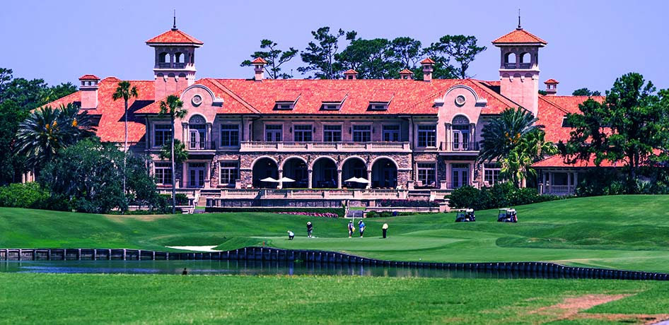 View of TPC Sawgrass clubhouse