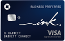 Ink Business preferred card art