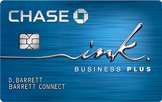 Chase ink plus business credit card rewards chase chase ink business plus registered trademark card reheart Image collections