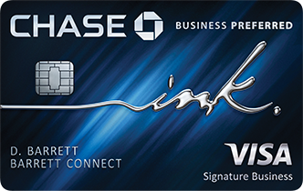 Chase Ink Business Preferred (Service Mark) Card
