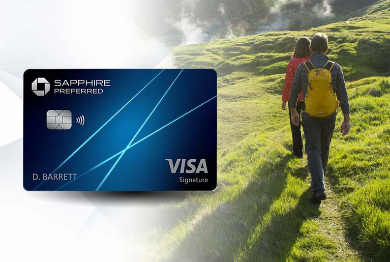 Chase Sapphire Preferred(Registered Trademark) credit card