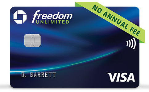 Chase Freedom Unlimited (Registered Trademark) credit card