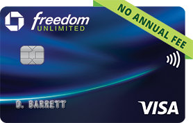 Chase Freedom Unlimited(Registered Trademark) Credit Card